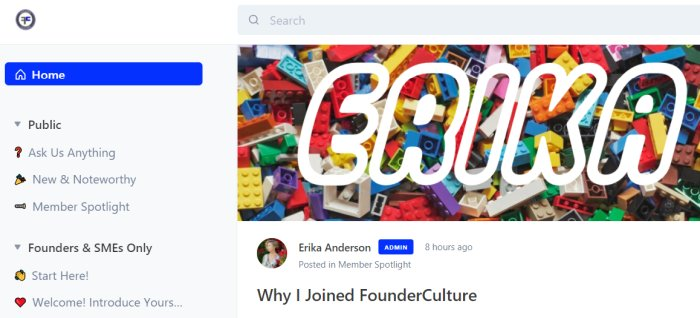 Founder Culture - Startup community